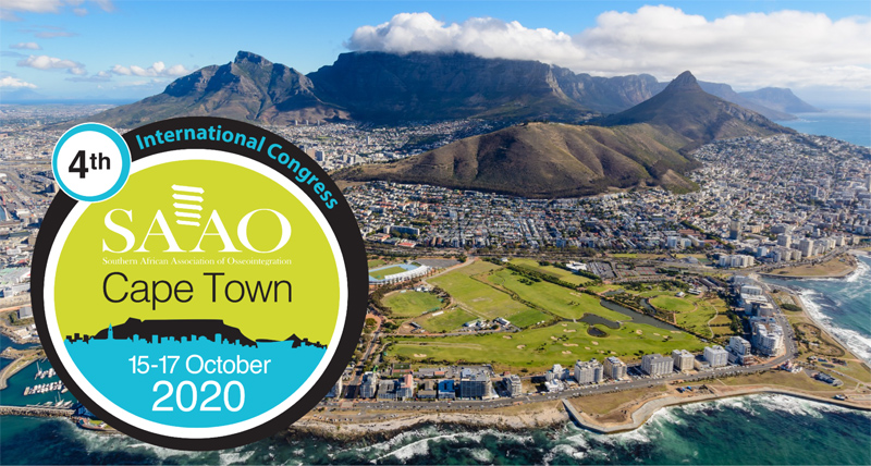Fourth International Congress of the South African Association of Osseointegration (SAAO)